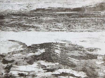 High tide, Lyme Bay